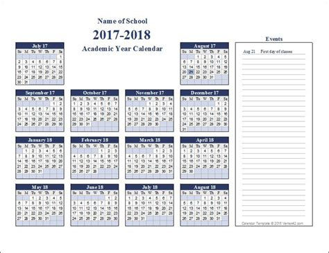 printable calendar academic the 25 best academic calendar ideas on pinterest
