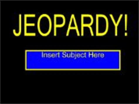 68 Best Images About Game Board Templates On Pinterest Jeopardy Generator