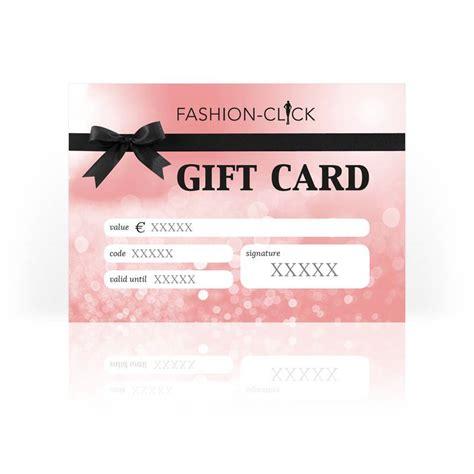 Gift Card Fashion - fashion click gift card 100 fashion click