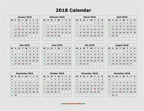 Philippines Calendrier 2018 January 2018 Calendar Printable Free 8 12 X 11