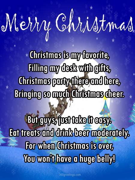 christmas party poems poems celebration all about