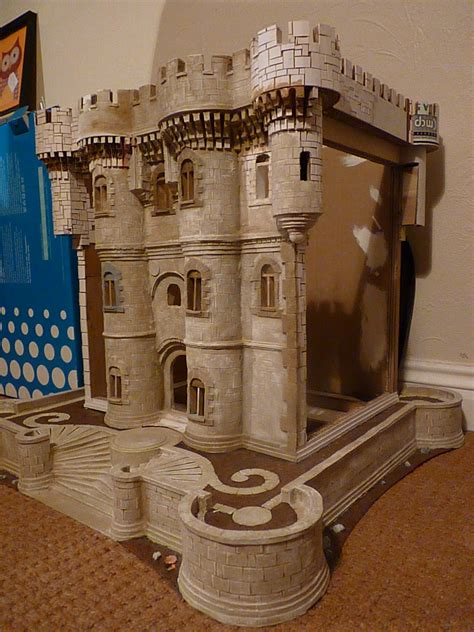 castle bookcase in progress by artisallan on deviantart