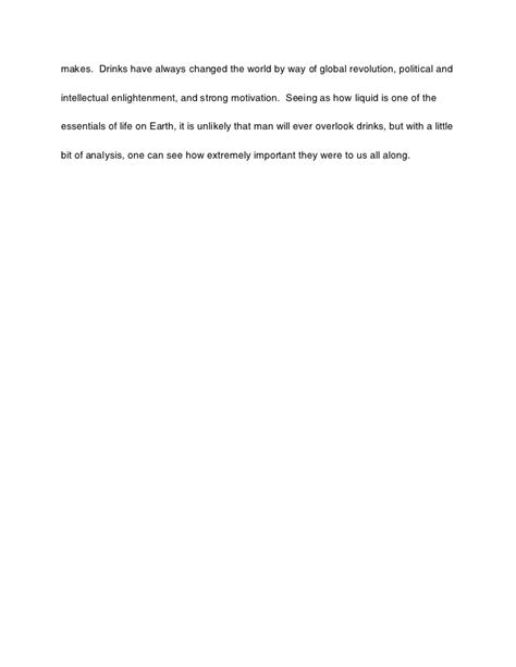 Pdf History World 6 Glasses by History Of The World In Six Glasses Essay