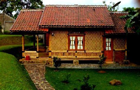 gbr rumah anyaman bambu desainrumah idenahrumah