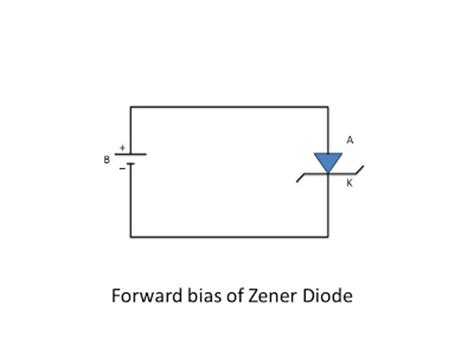 diode forward bias circuit diagram the zener diode instrumentation and engineering