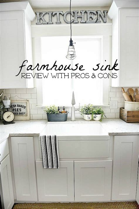 pros and cons of farmhouse sinks farmhouse review pros cons sinks budgeting and