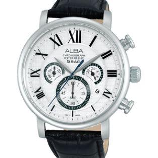 Jam Tangan Alba Original At3752 jam tangan alba original pria tali kulit at3573x1