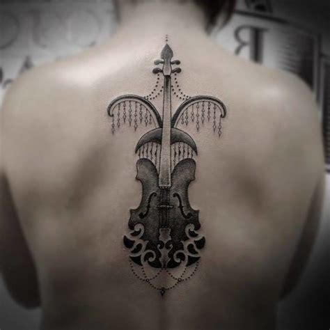 violin tattoo 16 enchanting violin tattoos tattoodo