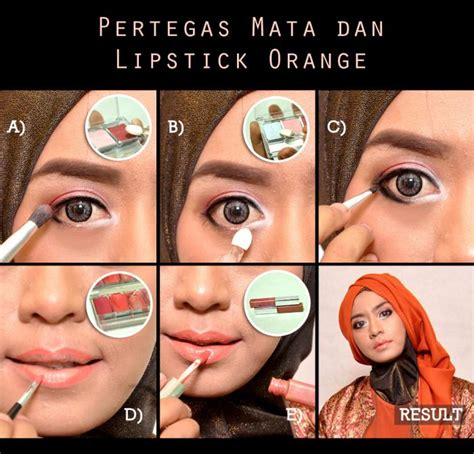 tutorial makeup natural muslimah wardah make up natural wardah untuk kulit sawo matang saubhaya