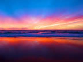 colorful sunset colorful sunset at one hd wallpaper pictures