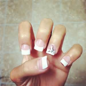 acrylic white tip nail designs home decoration live