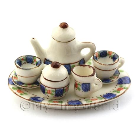 dolls house tea set fine tea sets dolls house miniature mytinyworld