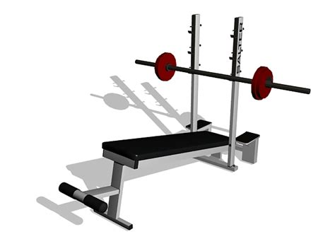 modells weight bench weight bench set 3d model 3ds max files free download