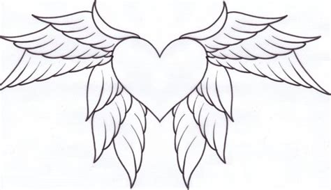 coloring pages heart with wings 7 hearts with wings coloring pages for kids gt gt disney