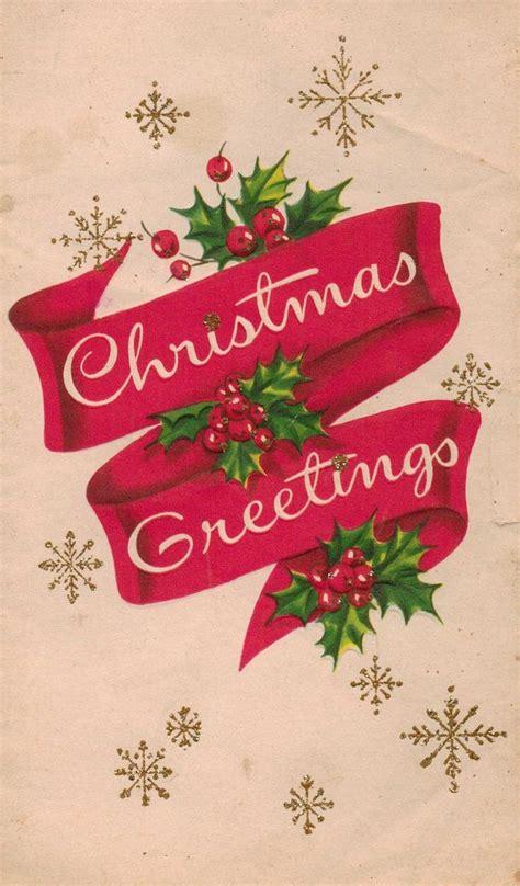 beautiful vintage christmas  vintage christmas cards idees noel noel vintage