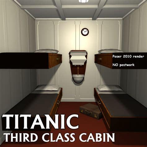 Titanic 3rd Class Cabins by Titanic Third Class Cabin 3d Models Greenpots