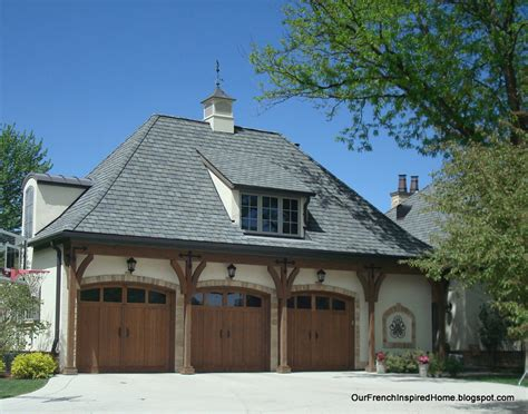 french roof styles our french inspired home european style garages and garage doors