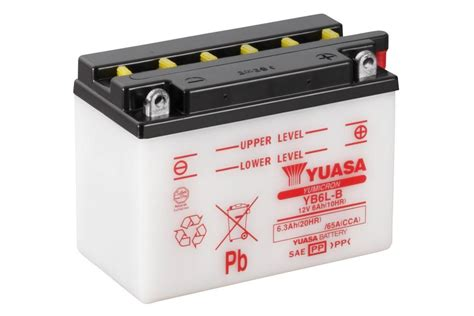 Motorrad Batterie Erhaltungsladeger T Test by Yb6l B Yumicron Motorrad Powersport Batterien
