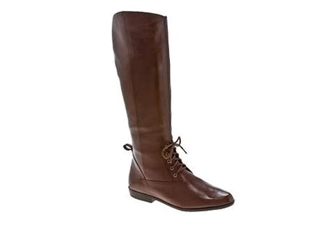 liz claiborne palmer leather boot dsw