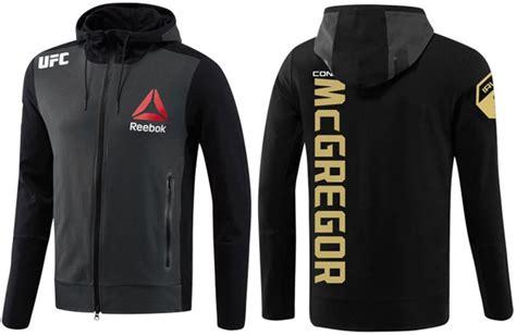 Jaket Hoodie Zipper Ufc Ronda Rousey Reebok conor mcgregor ufc reebok chion walkout hoodie