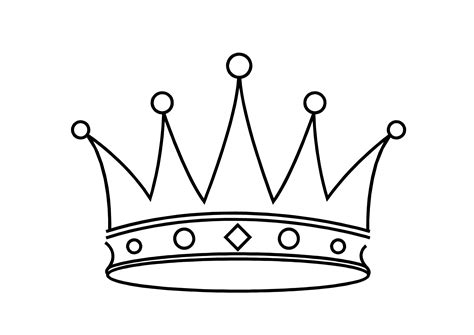 Coloring Page Of A Crown For A King | kings crown coloring pages clipart best