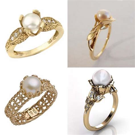 pearl engagement rings best of the bee pearl engagement ring tips and ideas