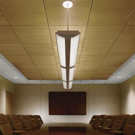 Wood Plank Ceiling Cost Wood Ceilings Planks Panels Armstrong Ceiling