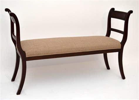antique mahogany bench antique upholstered mahogany stool bench antiques atlas