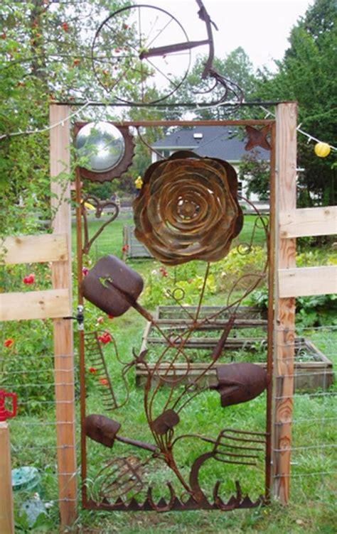 gorgeous creative metal garden gates ideas metal