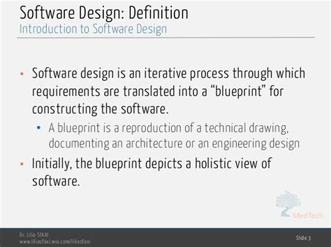 design definition in software engineering software engineering chp3 design