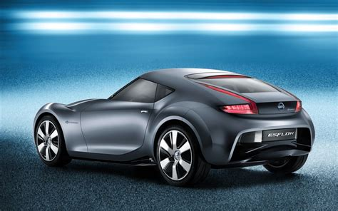 nissan small sports car 2011 nissan electric sports concept car 3 wallpaper hd