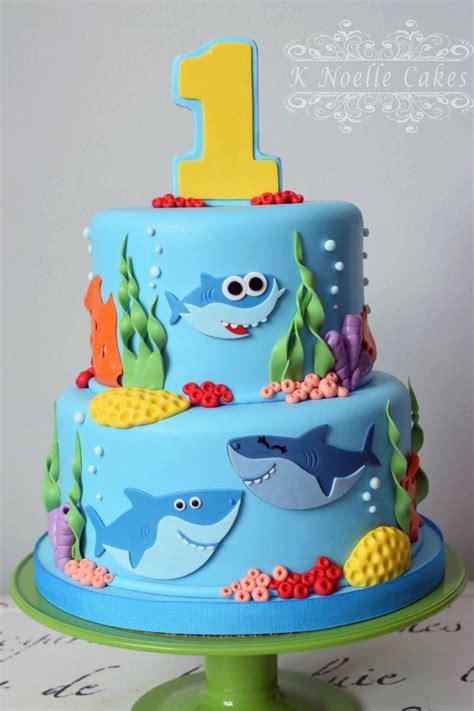 baby shark cake   noelle cakes cakes   noelle cakes   birthday shark birthday