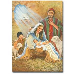 Cards With Nativity - card with nativity xmasblor