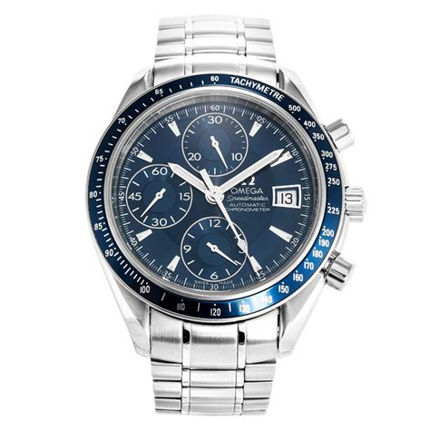 Blue Omega Speedmaster Date 3212.80.00   Replica Watches Store