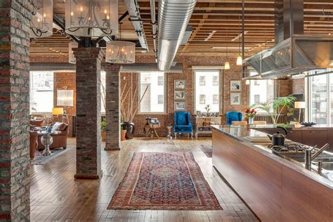 brick loft lifesaver loft festooned in exposed brick asks 5 million