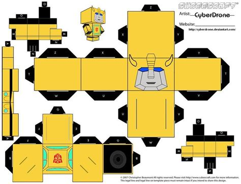 How To Make A Paper Transformer Bumblebee - transformers bumblebee by cyberdrone on deviantart