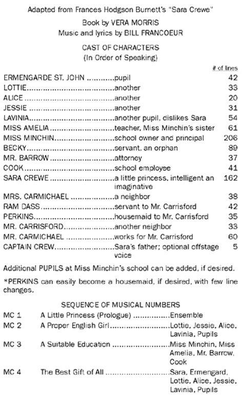 A Little Princess - The Musical