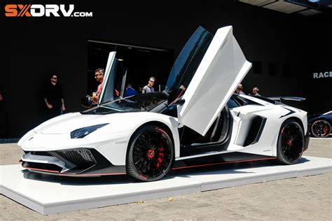 lamborghini customised customised aventador sv in the with armytrix