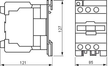 Kontaktor Contactor Schneider 80a 3p 220v Lc1d80m7 Lc1 D80m7 contactor schneider electric lc1e80m5 80a 400v ac3 220v