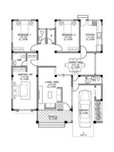 design house plans extraordinary small philipino inspired house plan