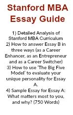 Stanford Mba Essay Tips by Stanford Mba Essay Stanford Mba Essay Sle Mba