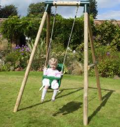 baby garden swing rebo pluto baby wooden garden swing set baby swing