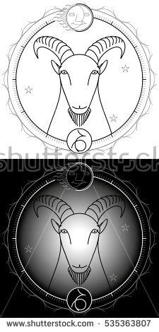 groundhog day zodiac sign zodiac signaries horoscope vector illustration stock