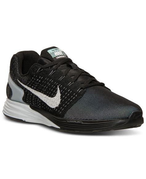 nike flash sneakers lyst nike s lunarglide 7 flash running sneakers from