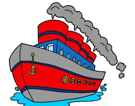 barco crucero dibujo barco dibujo coloreado imagui