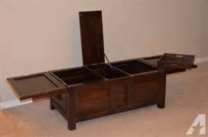 Crate Coffee Table For Sale Crate Barrel Trunk Coffee Table For Sale In