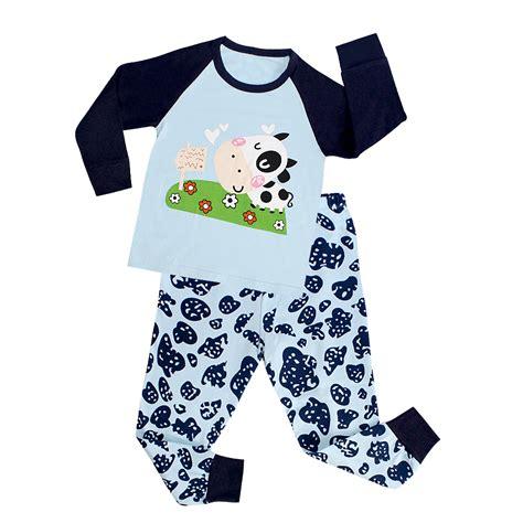 Piyama Anak Lucu Owl 1 lucu bayi tidur pakaian piyama set sapi anak anak pakaian set id produk 60598516469