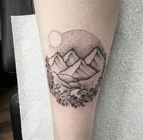 landscape tattoos 50 nature landscape tattoos for and 2018