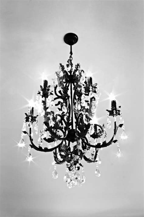 Black Chandelier With Crystals 10 Best Ideas About Black Chandelier On Pinterest Chandelier Vintage Chandelier And