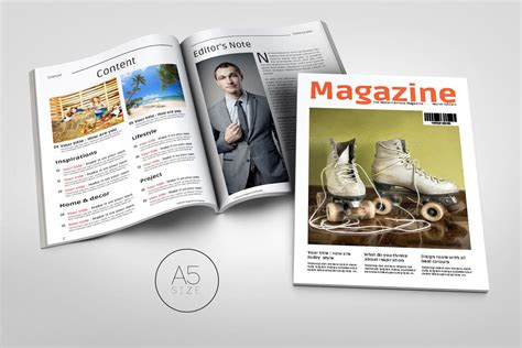 magazine template 20 premium magazine templates for professionals
